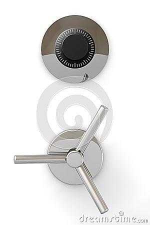 Free Bank Safe Door Stock Photo - 6562640