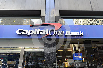 Bank signage Editorial Image
