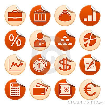 Banken & financiënstickers