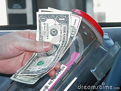 Banking: Drive Up Bank Machine
