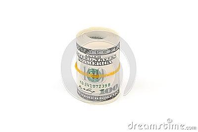 Banknotów sto dolarów