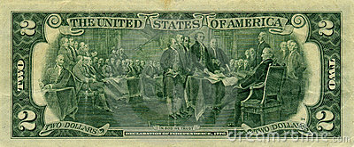 Banknote 2 dollars