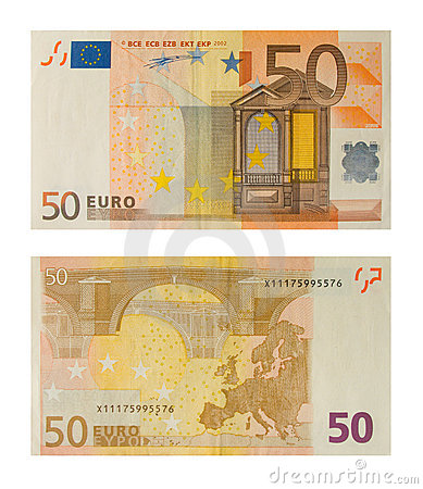 Free Banknote 50 Euro Royalty Free Stock Photography - 3927217