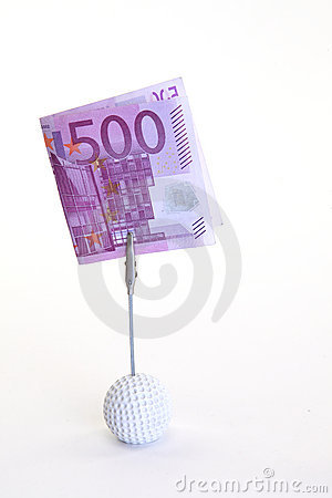 Banknote des Euro-fünfhundert