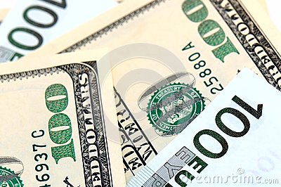 Banknotes close-up