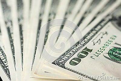 $100 banknotes