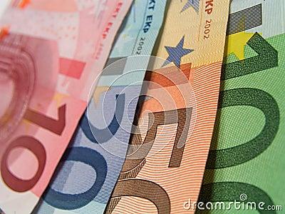 Banknotes detail
