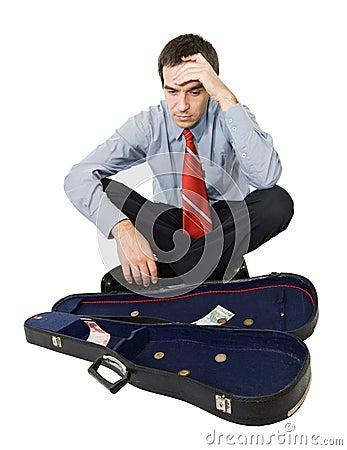 Free Bankrupt Businessman Stock Image - 7192041