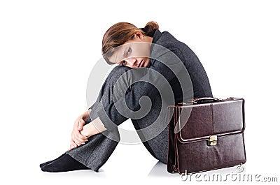 Bankrupt businesswoman