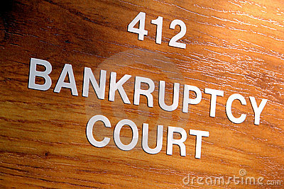 Bankruptcy Court Judge Chamber Room Entrance Sign