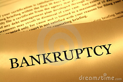 Bankruptcy Notice Legal Letter and Court Papers