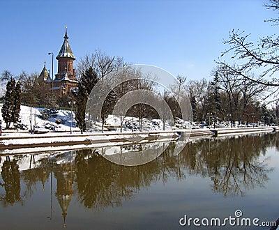 Banks of Bega River - Timisoara, Romania