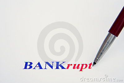Banks survive only with government bail-out.