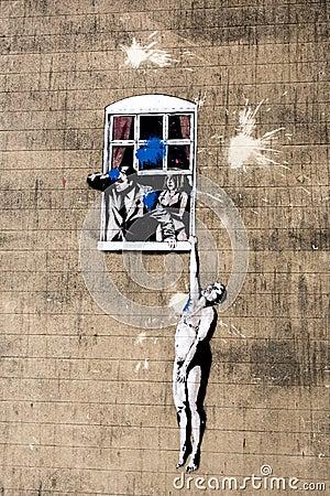 Free Banksy Royalty Free Stock Image - 26271846