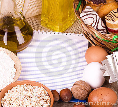 Banner Add For Recipe Stock Photography - Image: 24188492