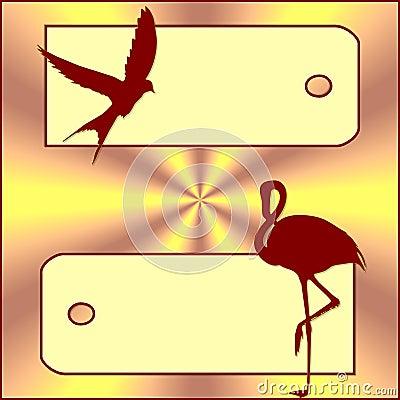 Banner birds
