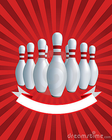 Banner. Bowling