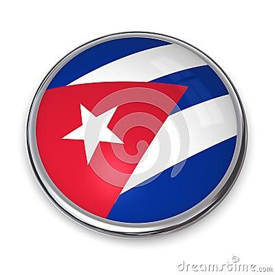 Banner Button Cuba