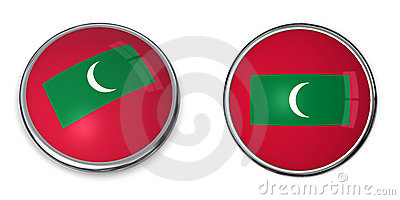 Banner Button Maldives