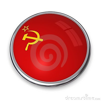 Banner Button Soviet Union
