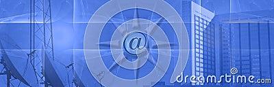Banner / header E-commerce and communication