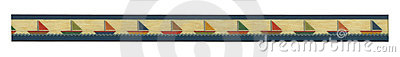 Banner of illustrated sailboat