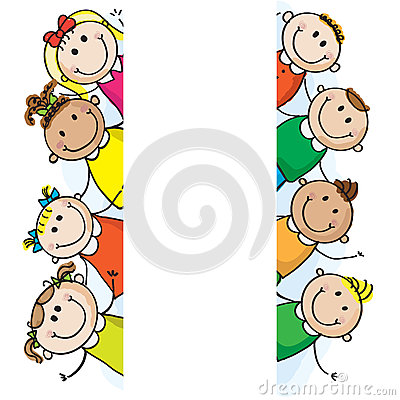 Free Banner Kids Stock Photography - 26495452