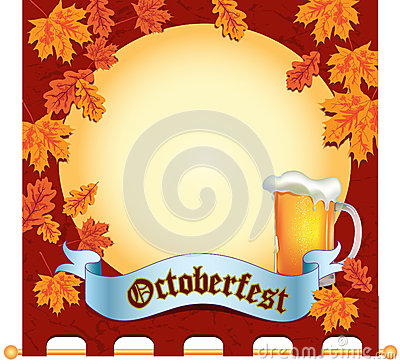 Banner Octoberfest Editorial Image