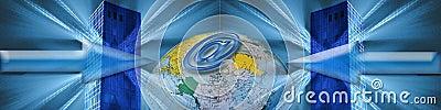 Banner: World wide E-commerce
