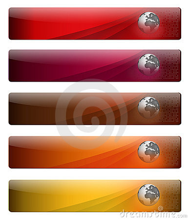 Free Banners For Your Web Page Logo Royalty Free Stock Photos - 11900888