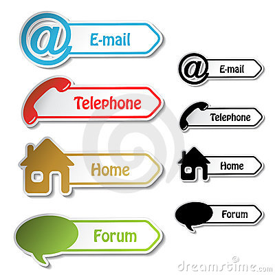 Banners - phone, email, home, forum