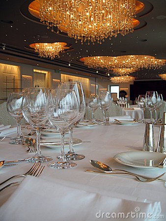 Free Banquet Tables 2 Royalty Free Stock Photography - 762207