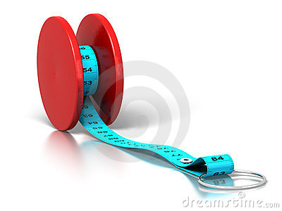 Banta yoyoen för effektförlustvikt