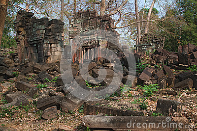 Banteay Chhmar Archaeological Site, Cambodia