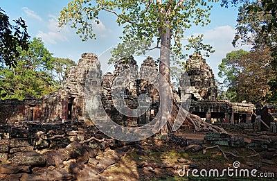 Banteay Kdei temple.Angkor. Siem Reap. Cambodia