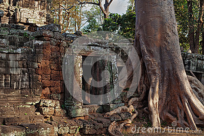 Banteay Kdei temple.Angkor. Siem Reap. Cambodia
