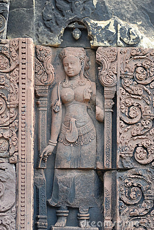 Free Banteay Srei, Angkor, Cambodia Stock Image - 3735431