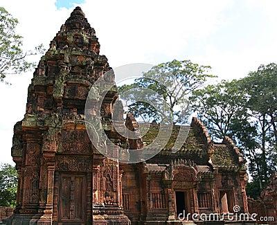 Banteay Srei Temple. Angkor. Siem Reap. Cambodia