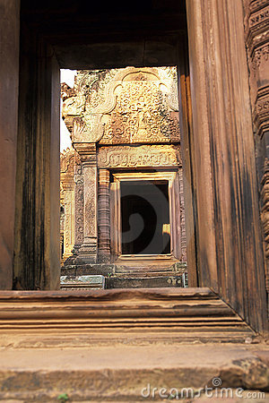 Banteay Srei temple- Angkor Wat ruins, Cambodia