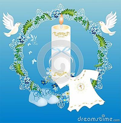 Baptism Stock Illustration - Image: 49400078