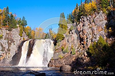 Baptism falls, autumn