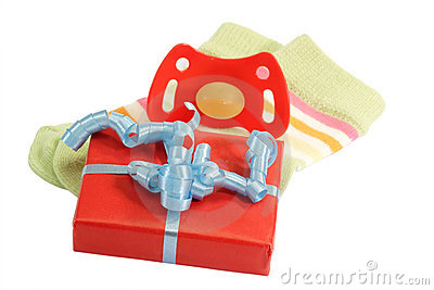 Royalty Free Stock Photos: Baptism gift