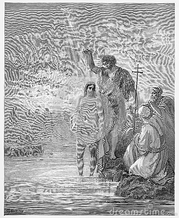 The Baptism of Jesus Editorial Image