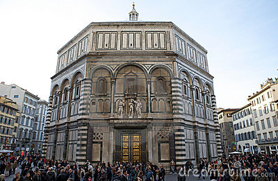 Baptistery Editorial Stock Photo