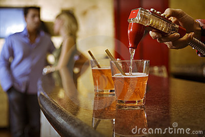 Bar Photos libres de droits - Image: 2446268