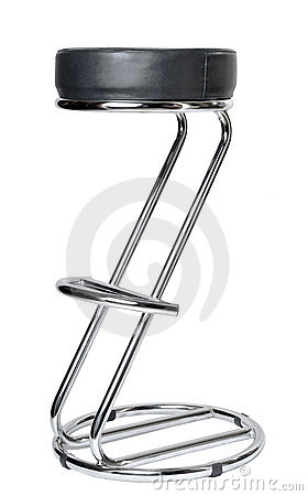 Bar chair on a white background