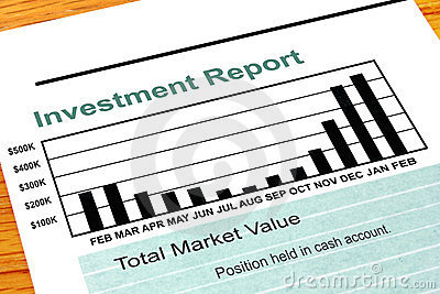 Bar Chart Investment Report