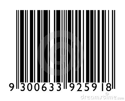 Bar Code Stock Photo - Image: 3434430