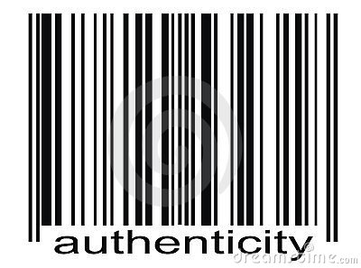 Bar code authenticity