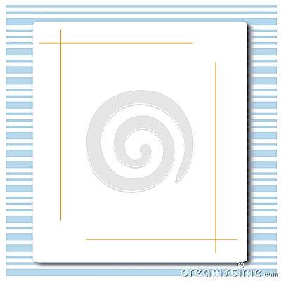 Bar code and blank white board